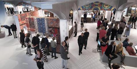 Tentoonstelling Iran vanaf de vide gezien. Foto: Sake Elzinga / Drents Museum